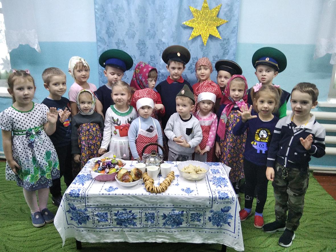 В Терновском детском саду прошли праздничные святки