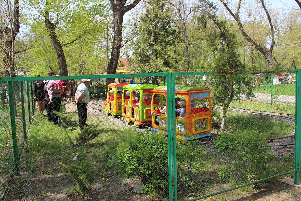 Городской парк в Миллерово готовится к реконструкции