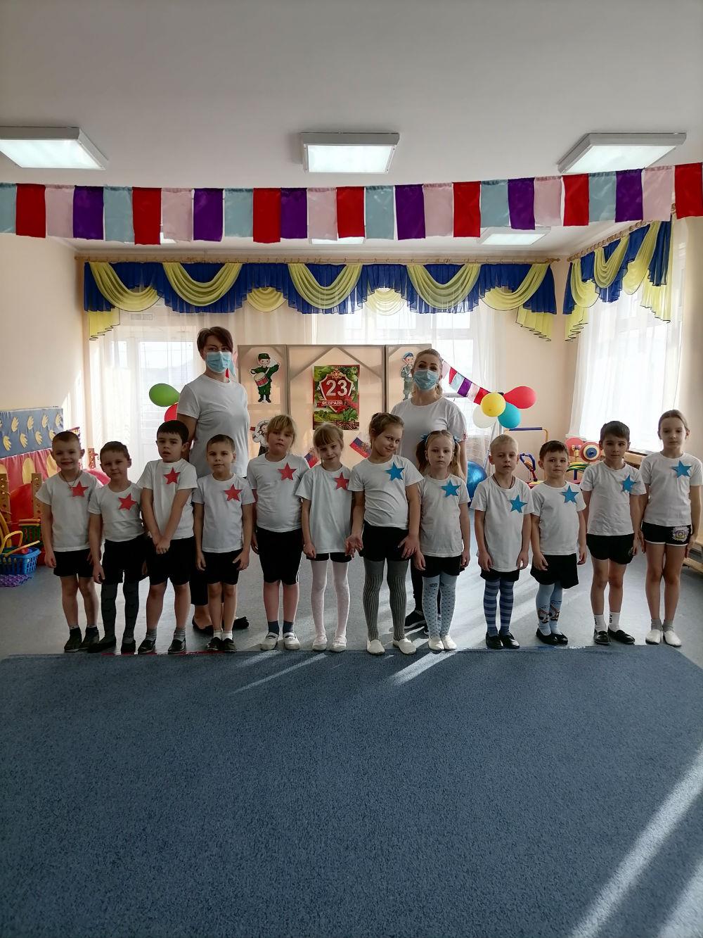 День Защитника Отечества отметили в детском саду «Крепыш»