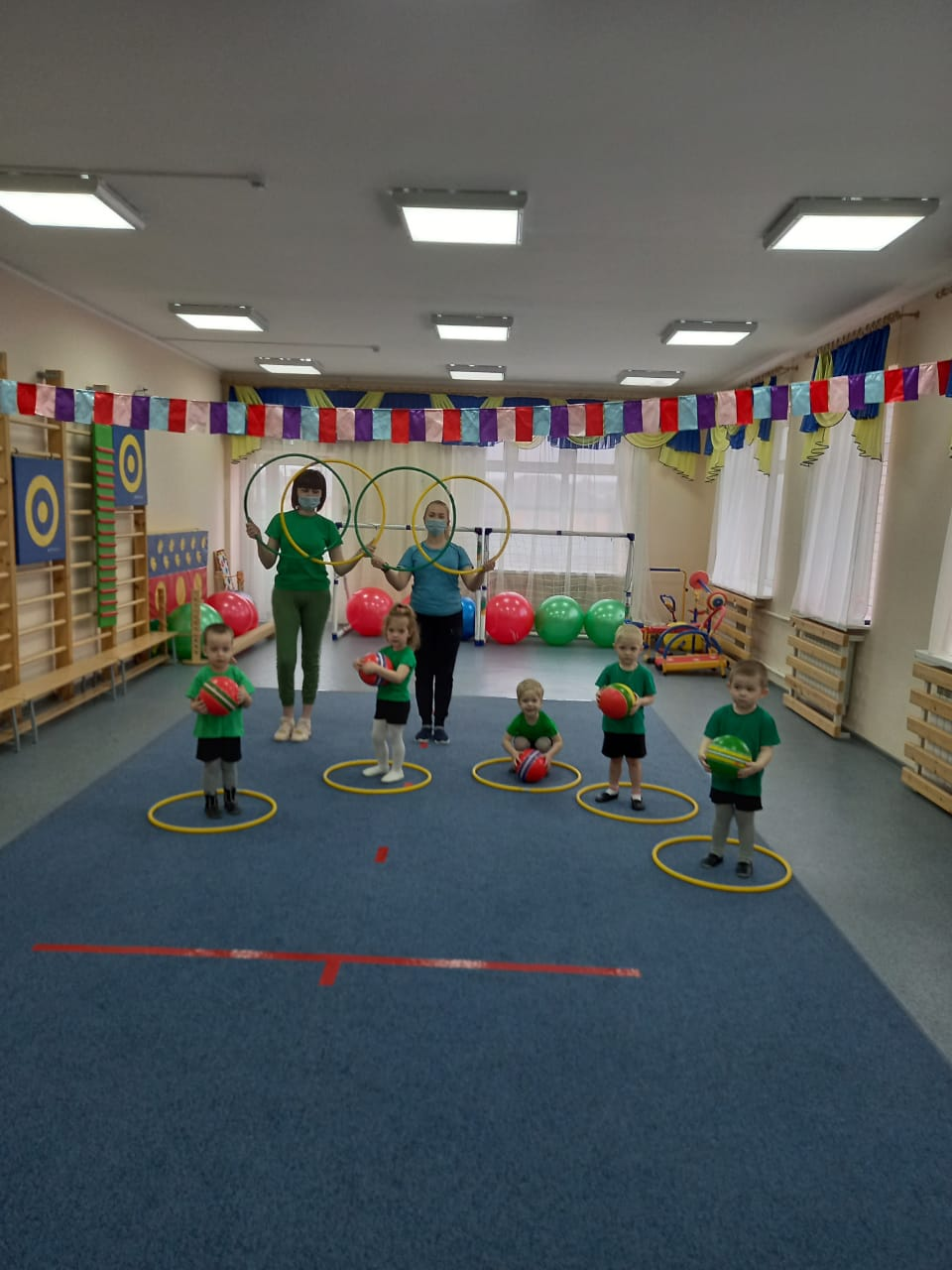 В детском саду «Крепыш» день здоровья один из самых любимых праздников