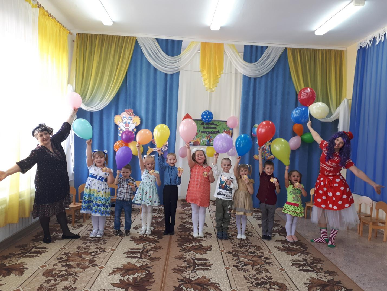В Волошинском детском саду отметили День смеха