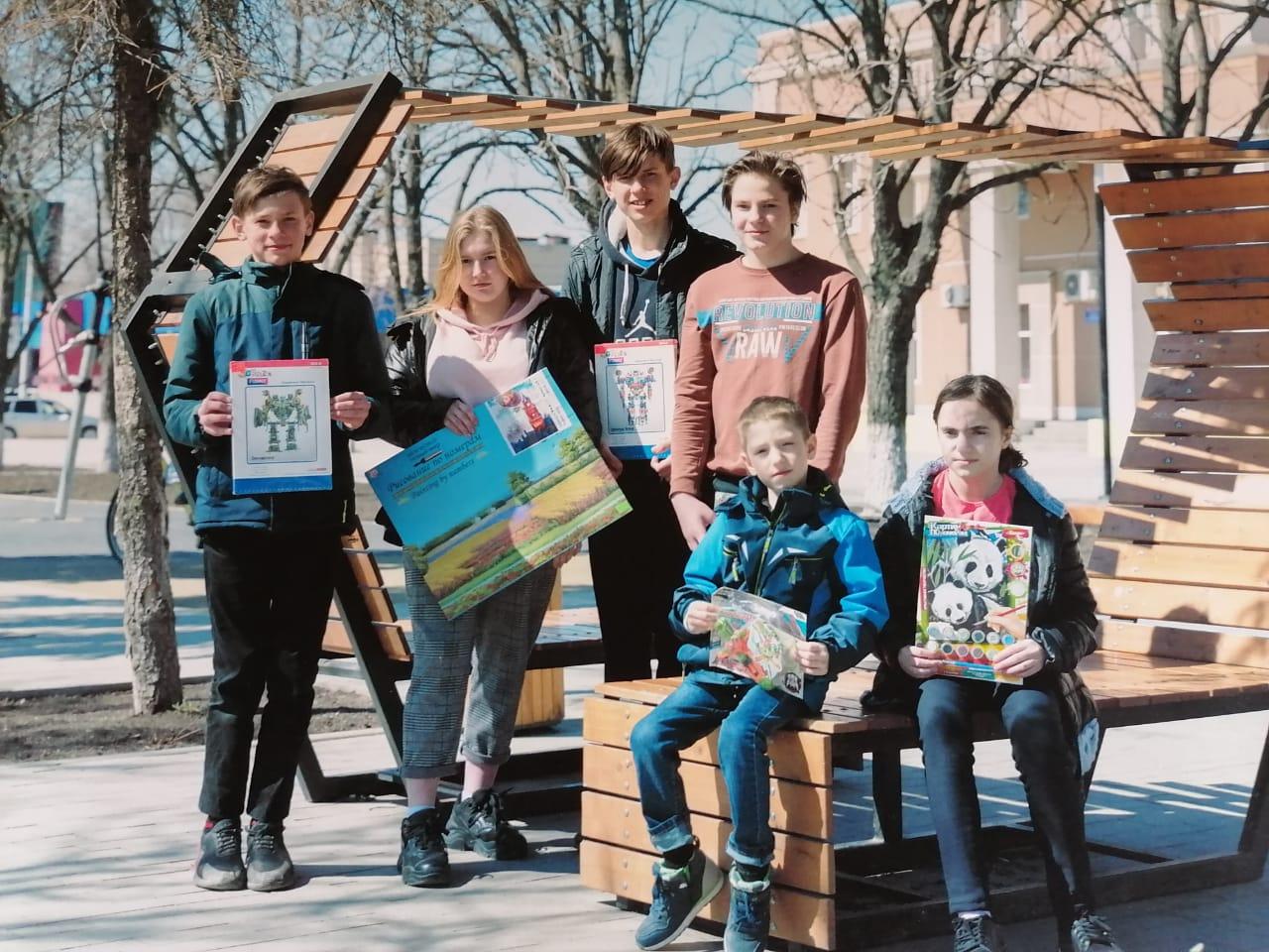Для воспитанников Сулинского центра помощи детям в Миллерово провели развлекательную программу