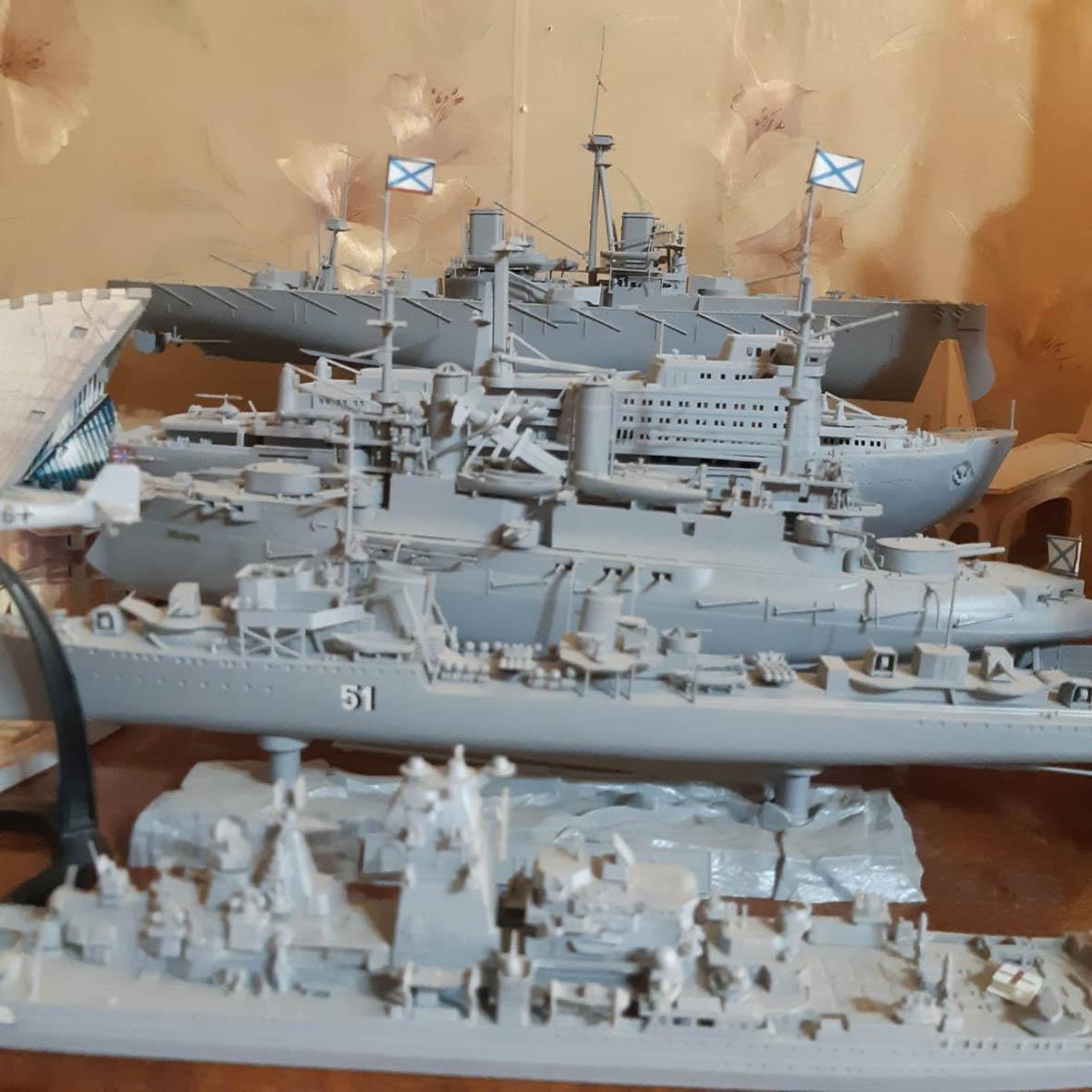 Миллеровец мечтал о море, теперь собирает корабли