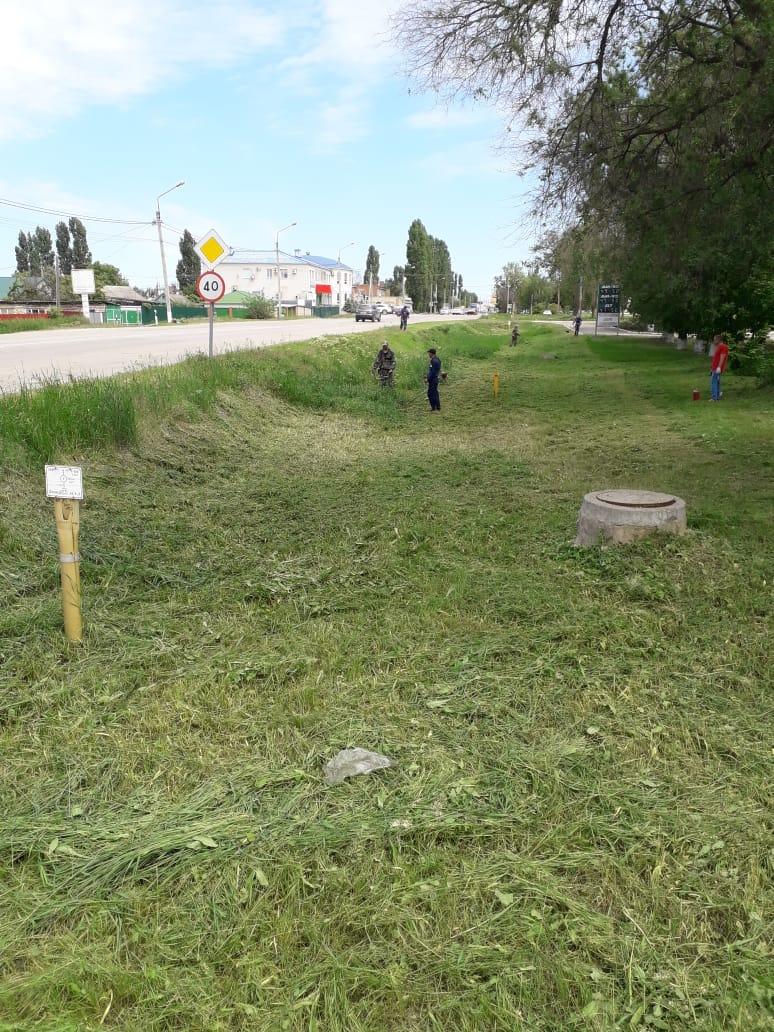 В Миллерово идет покос травы: соблюдайте меры безопасности