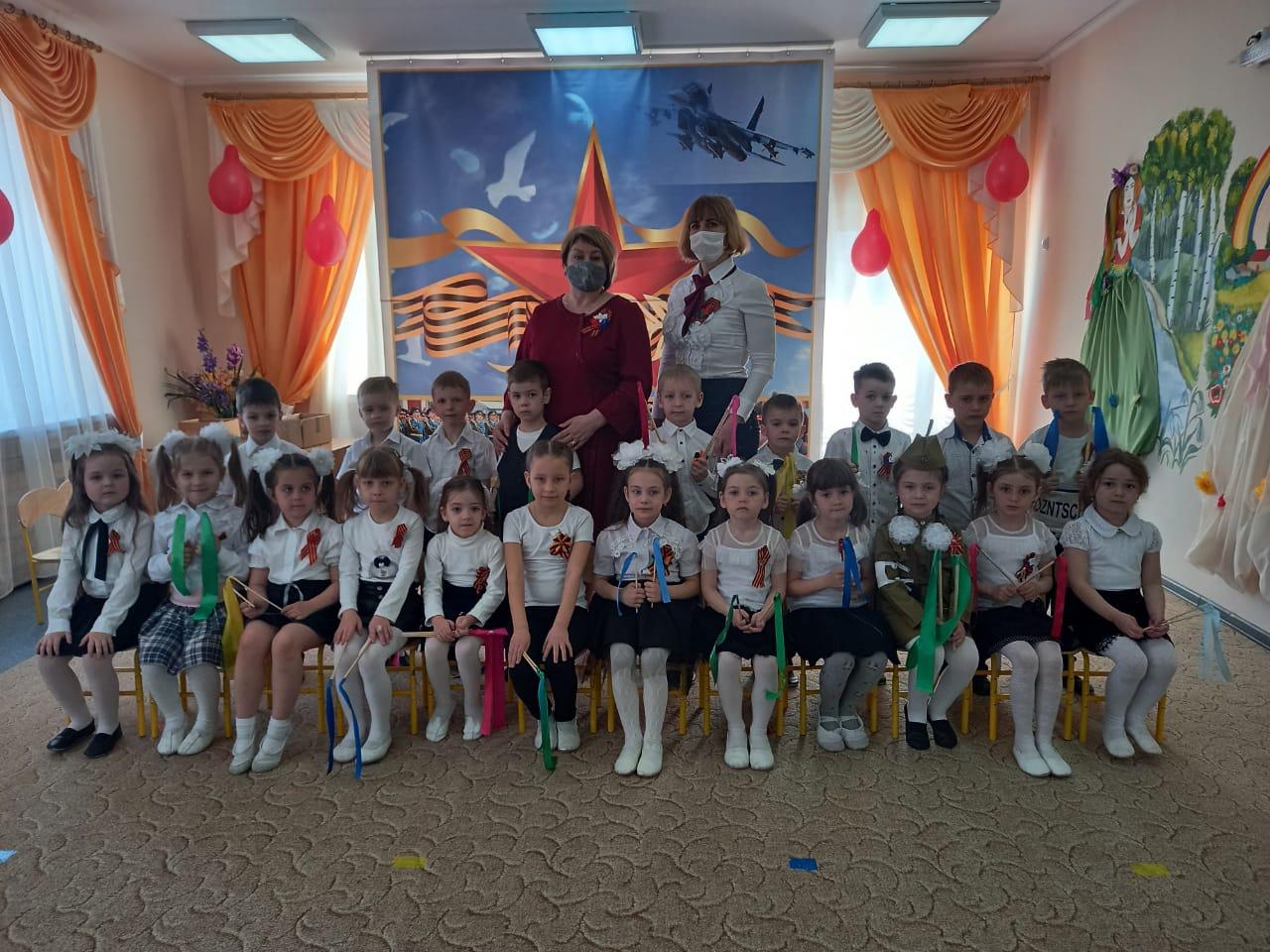 Память с нами всегда: в миллеровском детском саду №7 прошли мероприятия в честь Дня Победы