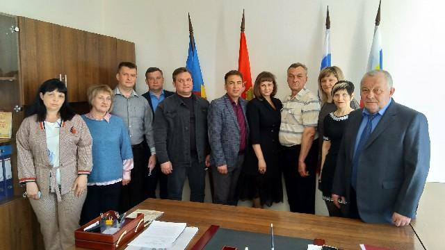 Организаторы выборов собрались на первое заседание в новом составе