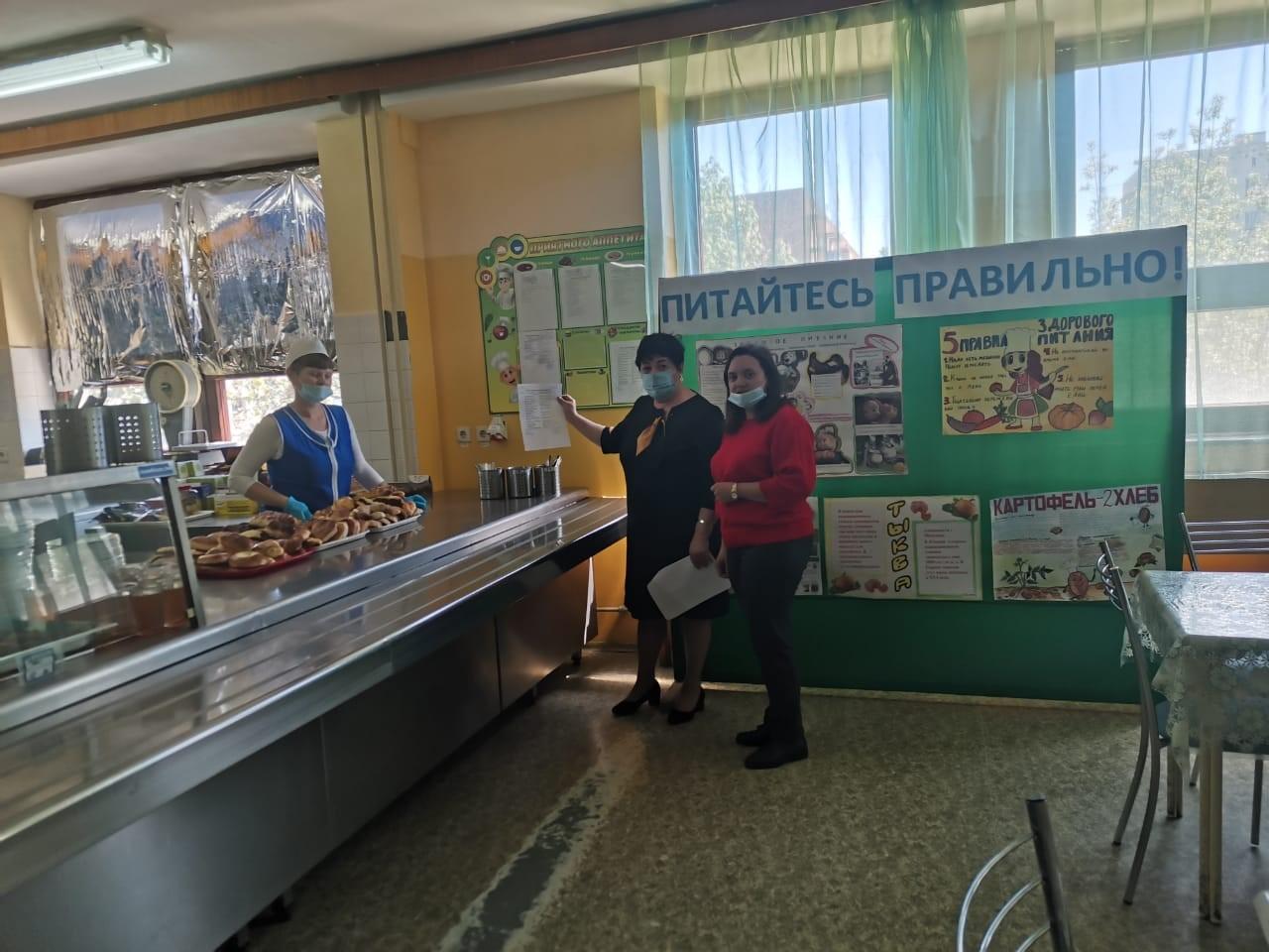 Роспотребнадзор участвует в мероприятиях по организации родительского контроля за питанием учащихся школах Миллеровского района