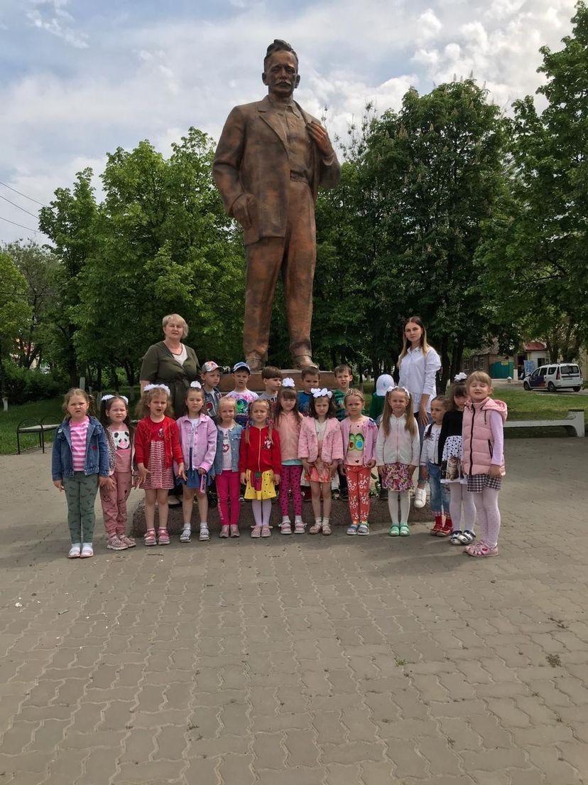 В миллеровском детском саду №2 прошло мероприятие, посвященное дню рождения Михаила Александровича Шолохова