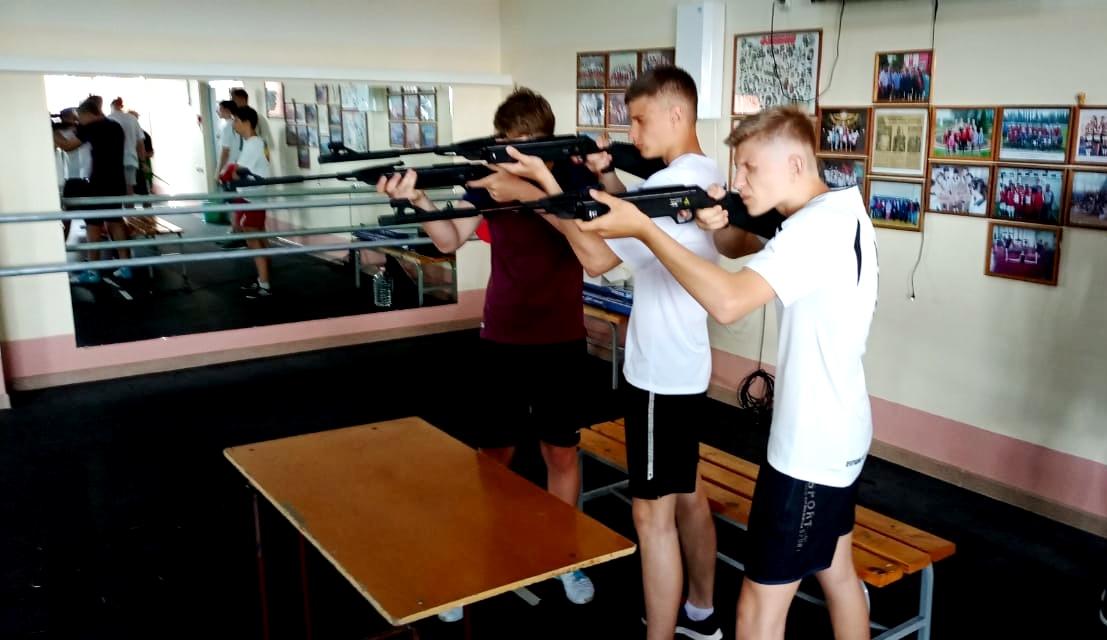 В Миллерово прошли состоялся зональный этап областной Спартакиады допризывной и призывной молодежи