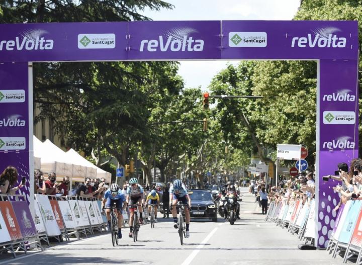Ростовчанка вошла в число призеров международной велогонки «Volta a Catalunya»