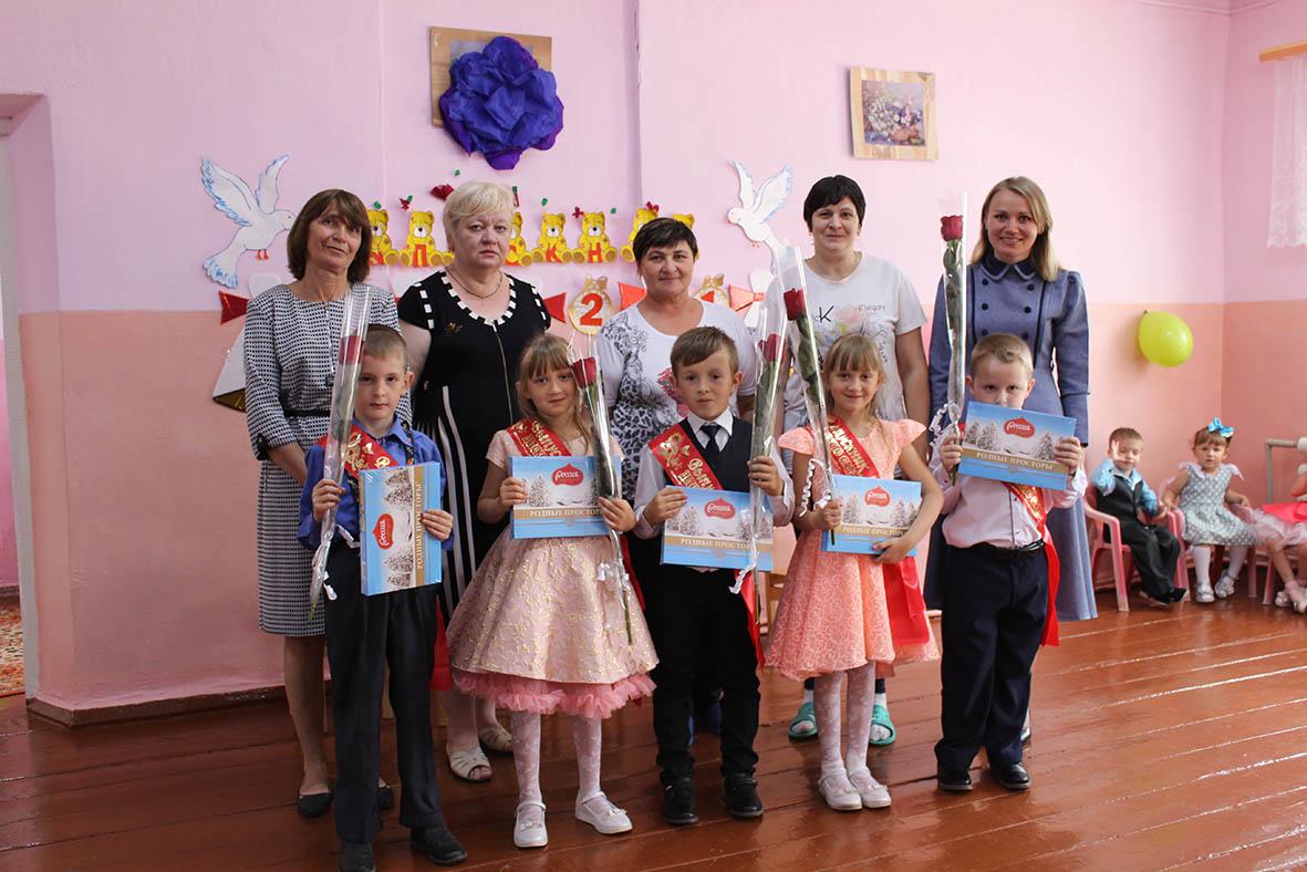 В Терновском детском саду прошел выпускной для «первоклассных стиляг»