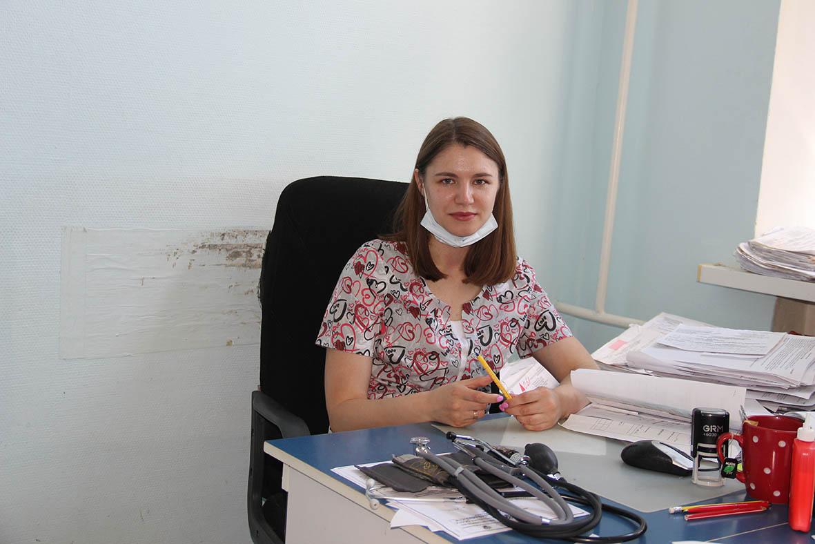 Терапевт Миллеровской ЦРБ Валерия Олеговна Беседина считает работу врача своим призванием