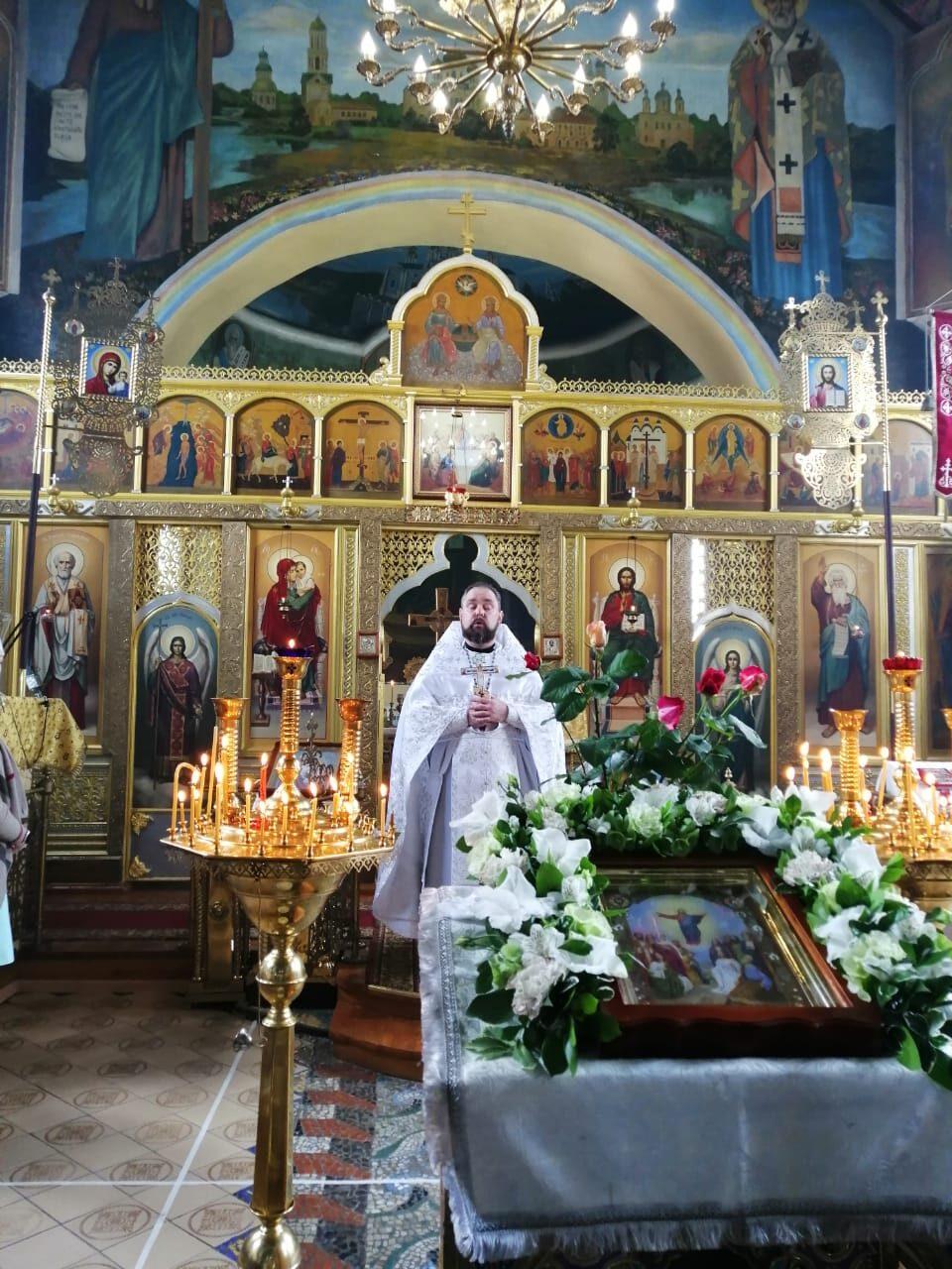 Православные верующие Миллеровского района отмечают Вознесение Господне