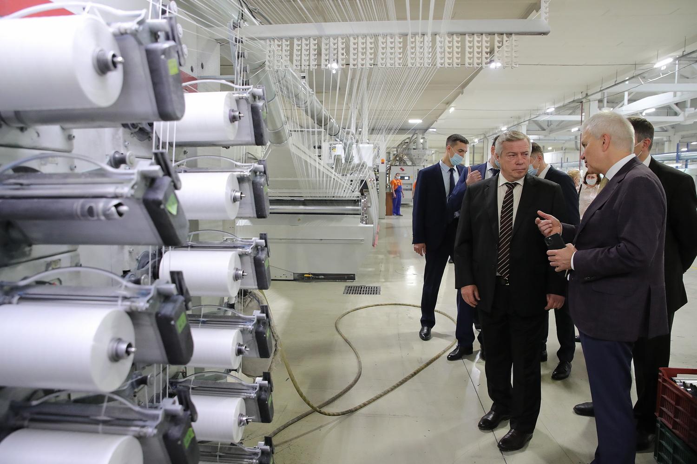 В текущем году в Ростовской области промышленное производство возросло на 15,4%