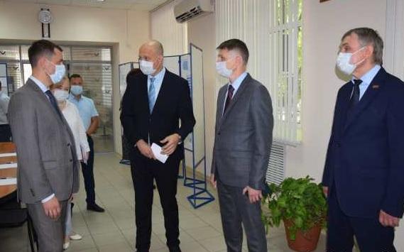 В Шахтах открыт первый в Ростовской области муниципальный Центр управления