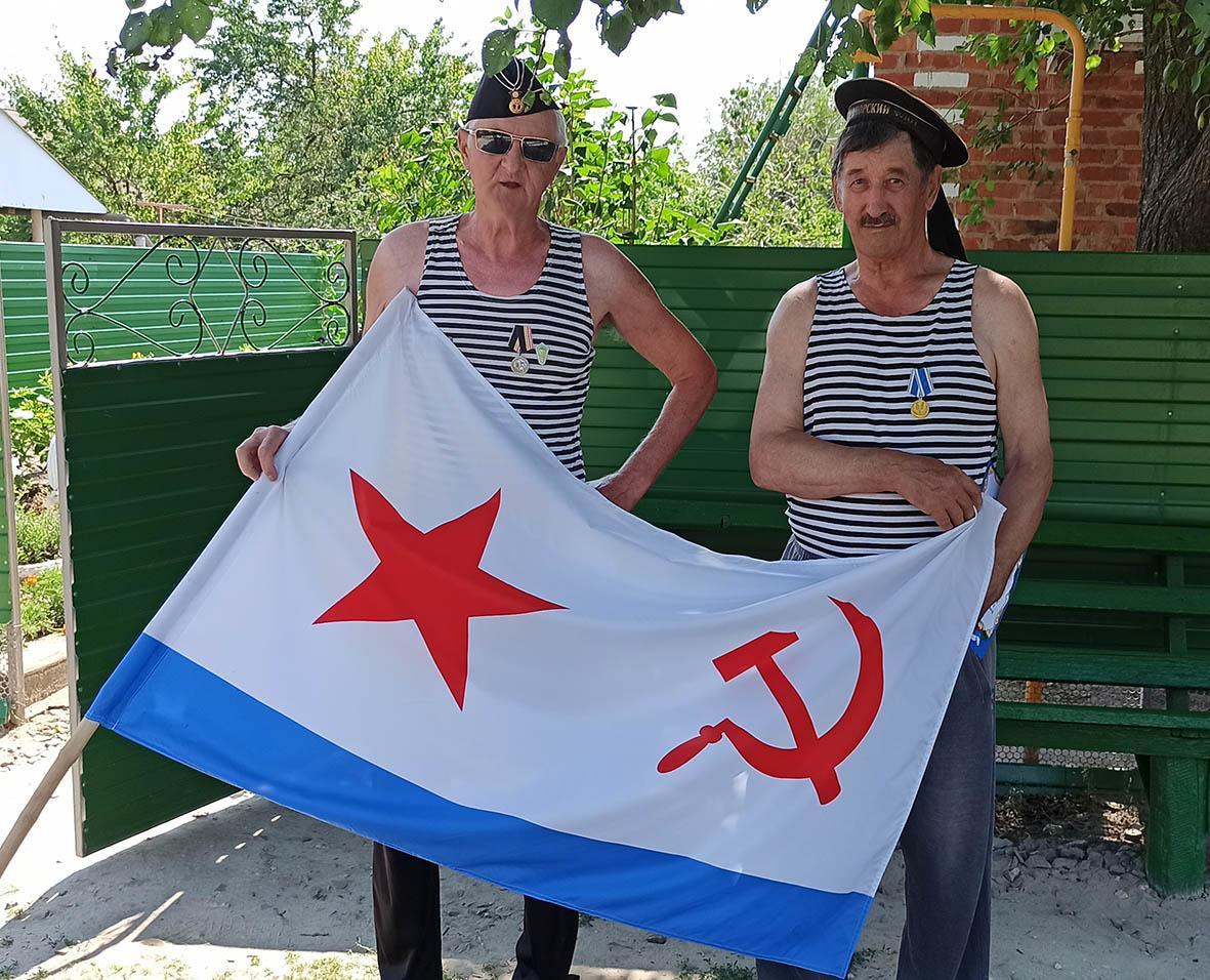 В Дегтево отметили день Военно-морского флота