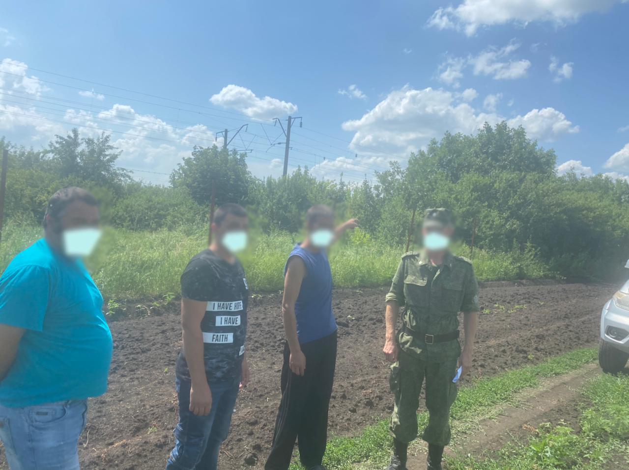 Депортированный гражданин Украины задержан в Ростовской области при попытке перейти границу