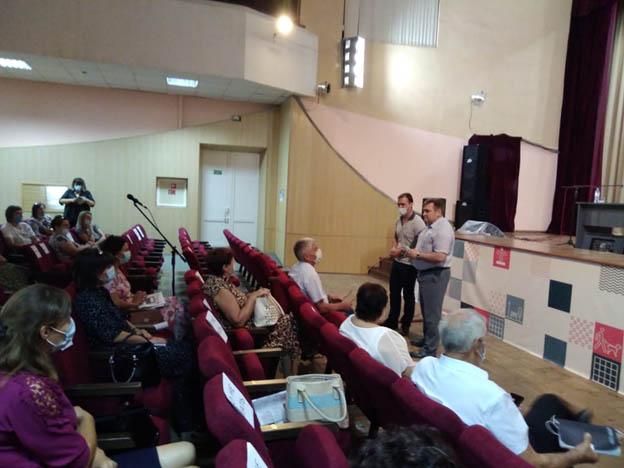 Стратегическая сессия прошла в  Миллеровском районе
