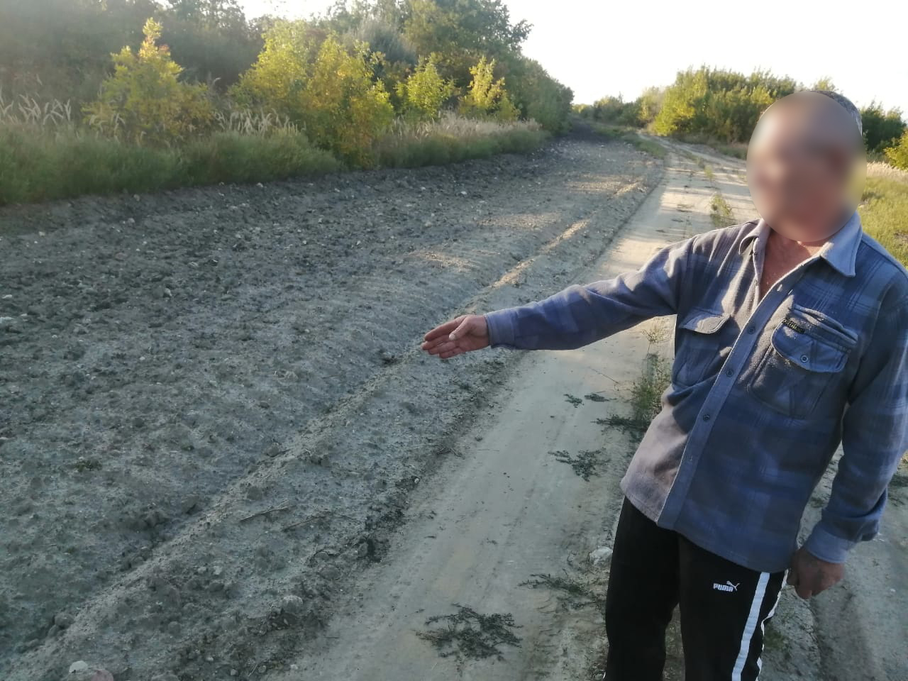 Гражданин Украины задержан при попытке незаконного пересечения госграницы