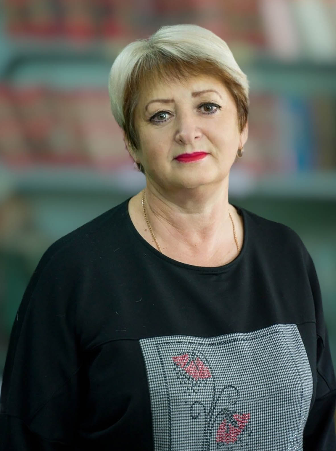 Свой юбилей отметила учитель информатики Никольской школы Ирина Константиновна Беликова